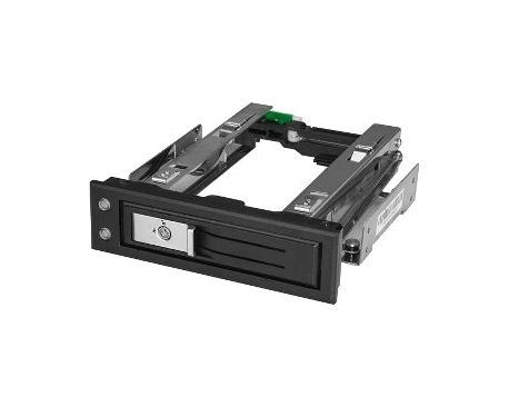 StarTech.com Bahía de 5,25 Pulgadas para Unidad de Disco Duro o SSD SATA de 3,5 con Intercambio en Caliente - Backplane SATA de