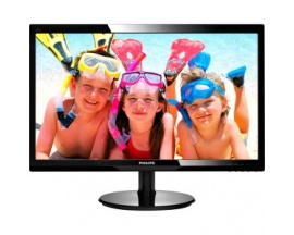 "Monitor LCD Philips 246V5LHAB - 61 cm (24"") - LED - 16:9 - 5 ms - Inclinación de la pantalla ajustable - 1920 x 1080 - 16,7"