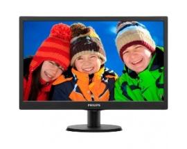"Monitor LCD Philips V-line 203V5LSB26 - 49,5 cm (19,5"") - LED - 16:9 - 5 ms - Inclinación de la pantalla ajustable - 1600 x"