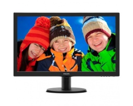 "Monitor LCD Philips 243V5LHAB - 59,9 cm (23,6"") - LED - 16:9 - 5 ms - Inclinación de la pantalla ajustable - 1920 x 1080 - 1"