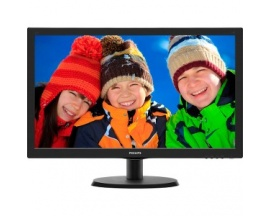 "Monitor LCD Philips V-line 223V5LHSB - 54,6 cm (21,5"") - LED - 16:9 - 5 ms - Inclinación de la pantalla ajustable - 1920 x 1"