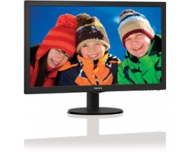 "Monitor LCD Philips V-line 243V5LHSB - 59,9 cm (23,6"") - LED - 16:9 - 1 ms - 1920 x 1080 - 16,7 Millones de colores - 250 cd"