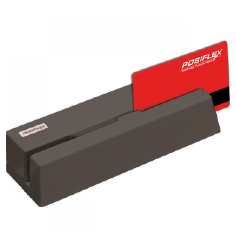 MR-2100 lector de tarjeta magnética USB Negro - Imagen 1