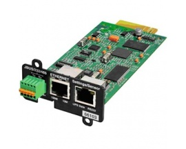 Adaptador de gestión de alimentación remota Eaton - 1 x Network (RJ-45) Port(s) - En Serie - Imagen 1