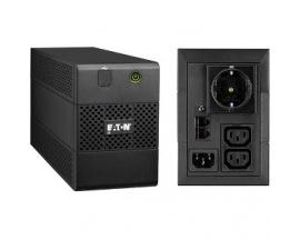 EATON SAI 5E - Torre. 650VA / 360W- 4 tomas C13. El AVR corrige fluctuaciones de voltaje sin usar batería. Arranque en frío. In