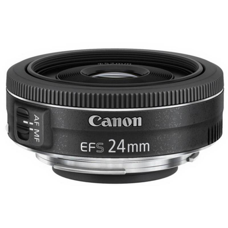 Canon EF-S 24mm f/2.8 STM Objetivo ancho Negro - Imagen 1