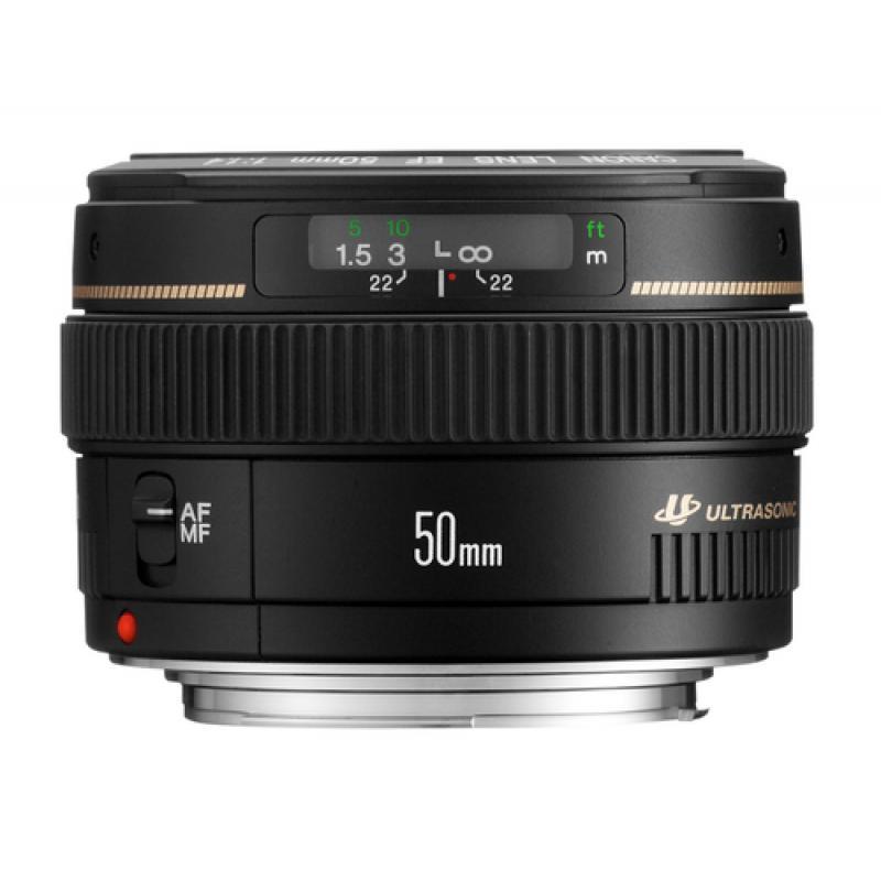 Canon EF 50mm f/1.4 USM SLR Negro - Imagen 1