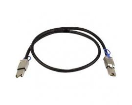 Cable de transferencia de datos QNAP - SAS - 1 m - 1 x SFF-8088 Mini-SAS - 1 x SFF-8088 Mini-SAS - Imagen 1
