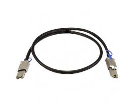 Cable de transferencia de datos QNAP - SAS - 50 cm - 1 x SFF-8088 Mini-SAS - 1 x SFF-8088 Mini-SAS - Imagen 1