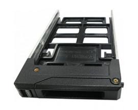 """Adaptador para Receptáculo de Unidad QNAP - Interno - Negro - 1 x Bahía Total - 1 x Bahía 2,5"""" - 2.5"""" - Imagen 1"""