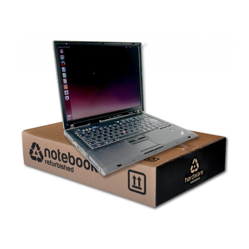 Lenovo ThinkPad T60Intel Core Duo T2400 1.83 GHz. · 4 Gb. DDR2 RAM · 120 Gb. SATA · DVD-RW · Teclado internacional con pegat