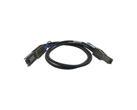 Cable de transferencia de datos QNAP CAB-SAS10M-8644-8088 - Mini-SAS - 1 m - 1 x SFF-8644 Mini-SAS - 1 x SFF-8088 Mini-SAS - Ima