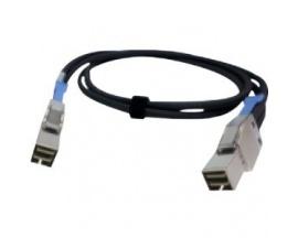 Cable de transferencia de datos QNAP CAB-SAS05M-8644 - Mini-SAS - 1 x SFF-8644 Macho Mini-SAS - 1 x SFF-8644 Macho Mini-SAS
