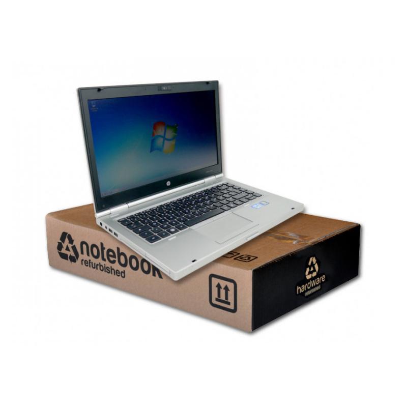 HP EliteBook 8460pIntel Core i5 2520M 2.5 GHz. · 8 Gb. SO-DDR3 RAM · 320 Gb. SATA · DVD-RW · Teclado internacional con pegat