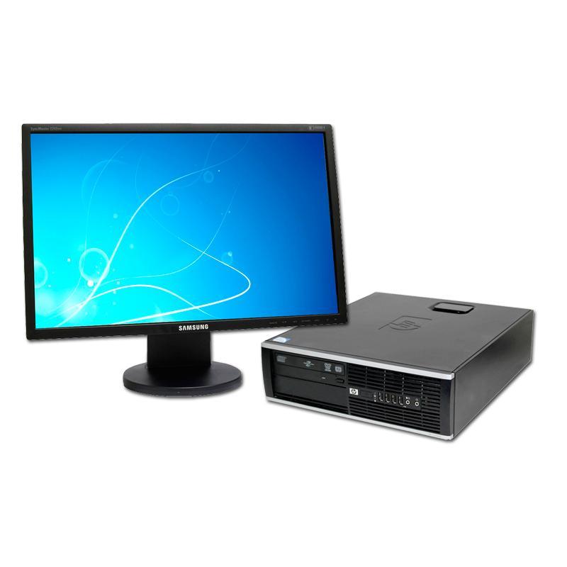 HP 8200 Elite SFF + TFT 22''Intel Core i3 2100 3.1 GHz. · 4 Gb. DDR3 RAM · 250 Gb. SATA · DVD · COA Windows 7 Pro · Monitor