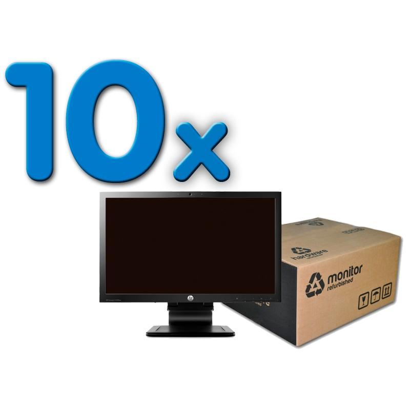 HP LA2306X Pack 10Pack 10 Unidades: Led 23 '' 16:9 · Resolución 1920x1080 · Dot pitch 0.265 mm · Respuesta 5 ms · Co
