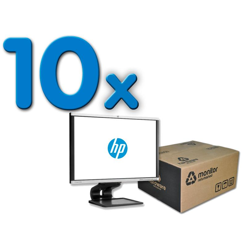 HP LA2405X Pack 10Pack 10 Unidades: Led 24 '' FullHD 16:10 · Resolución 1920x1200 · Dot pitch 0.27 mm · Respuesta 5