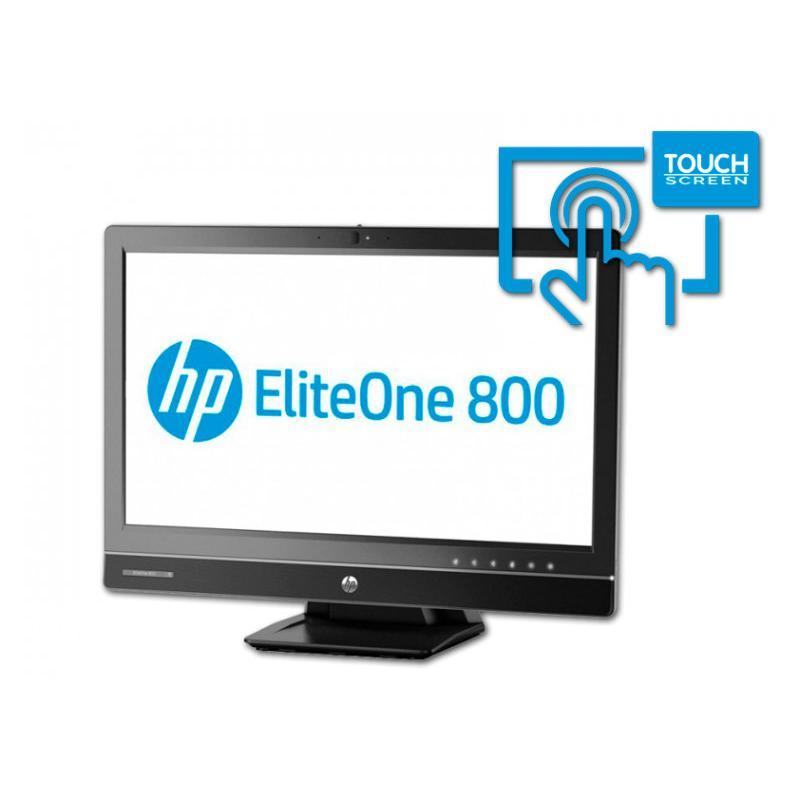 "HP 800 G1 All in One 23"" Intel Core i3 4130 3.4 GHz. · 8 Gb. SO-DDR3 RAM · 500 Gb. SATA · DVD-RW · Windows 10 Pro · Táctil 23 ''"