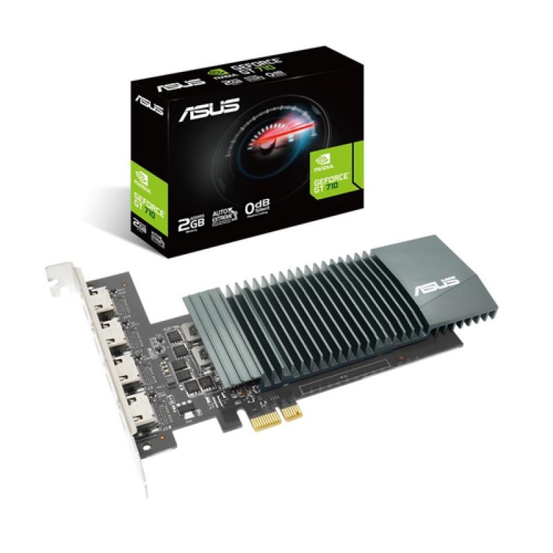 ASUS GT710-4H-SL-2GD5 NVIDIA GeForce GT 710 2 GB GDDR5 - Imagen 1