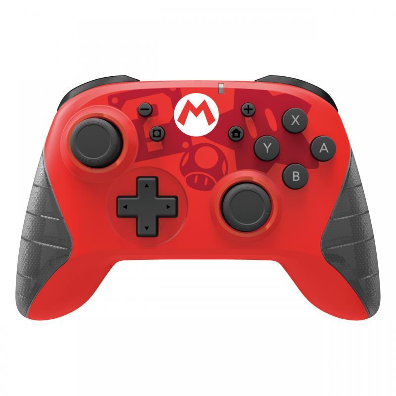 NSW-233U mando y volante Gamepad Nintendo Switch Analógico Bluetooth Negro, Rojo - Imagen 1