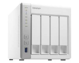 Sistema de almacenamiento SAN/NAS QNAP Turbo NAS TS-431P - Torre - Annapurna Labs Alpine AL-212 Dual-core (2 Core) 1,70 GHz - 1