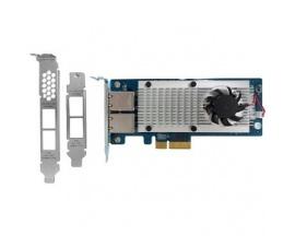 Tarjeta 10Gigabit Ethernet para PC - QNAP - 2 Puerto(s) - 2 - Par trenzado