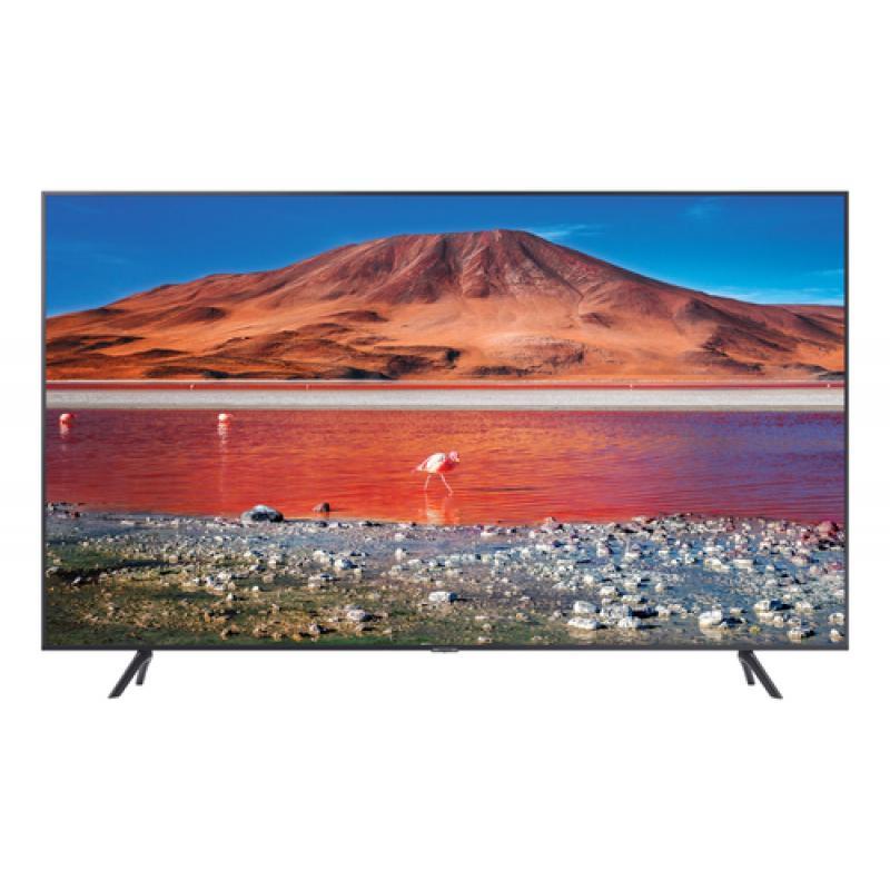 "Samsung UE50TU7105KXXC TV 127 cm (50"") 4K Ultra HD Smart TV Wifi Carbono, Gris, Plata"