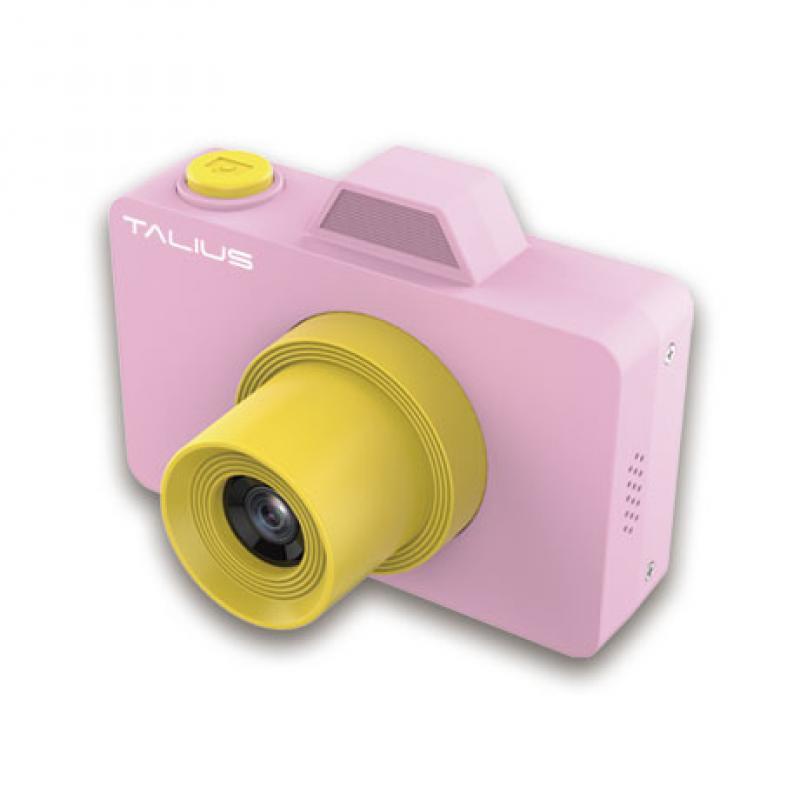 TALIUS Camara digital Pico kids 18MP 720P 32GB pink - Imagen 1