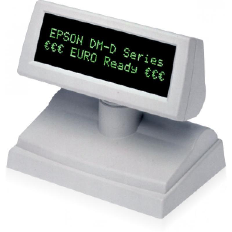 Epson DM-D110BA 40 dígitos Blanco USB 2.0 - Imagen 1