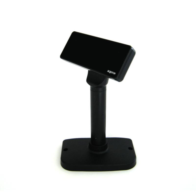 Approx APPVFD01 muestra de clientes Negro USB 2.0 - Imagen 1