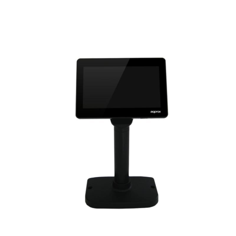 Approx APPVFD02LCD muestra de clientes Negro USB 2.0 - Imagen 1