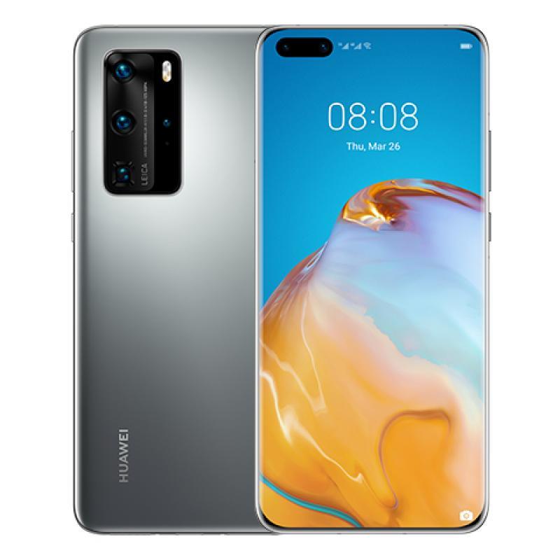 "Huawei P40 Pro 16,7 cm (6.58"") 8 GB 256 GB Ranura híbrida Dual SIM 5G USB Tipo C Plata Android 10.0 Huawei Mobile Services (HMS)"