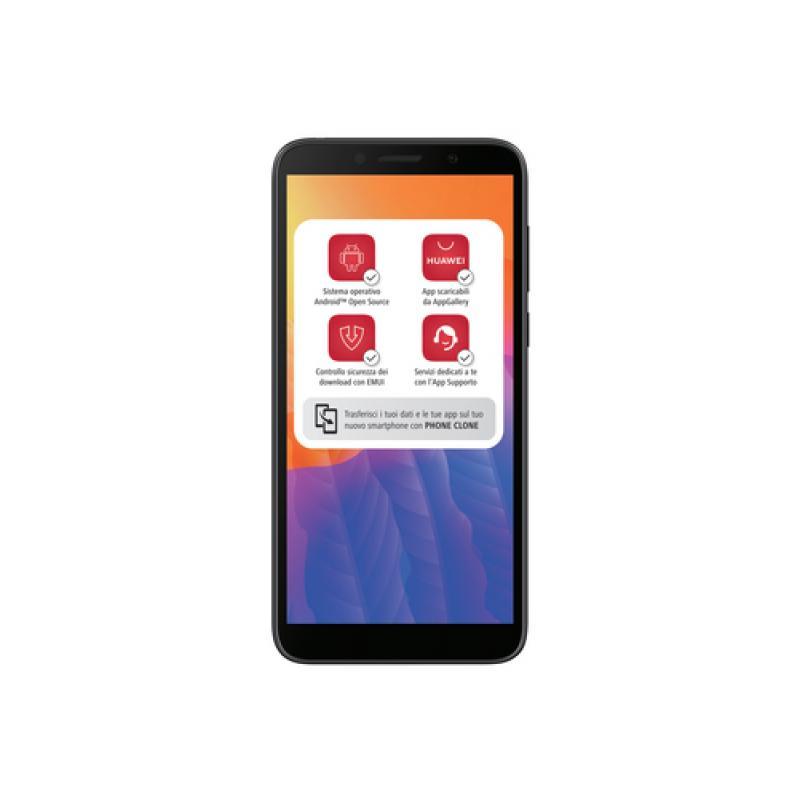 "Huawei Y5p 13,8 cm (5.45"") 2 GB 32 GB SIM doble 4G MicroUSB Negro Android 10.0 Servicios móviles de Huawei (HMS, Huawei Mobile S"