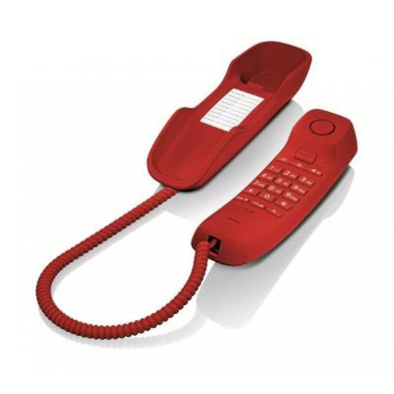 DA210 Teléfono analógico Rojo - Imagen 1