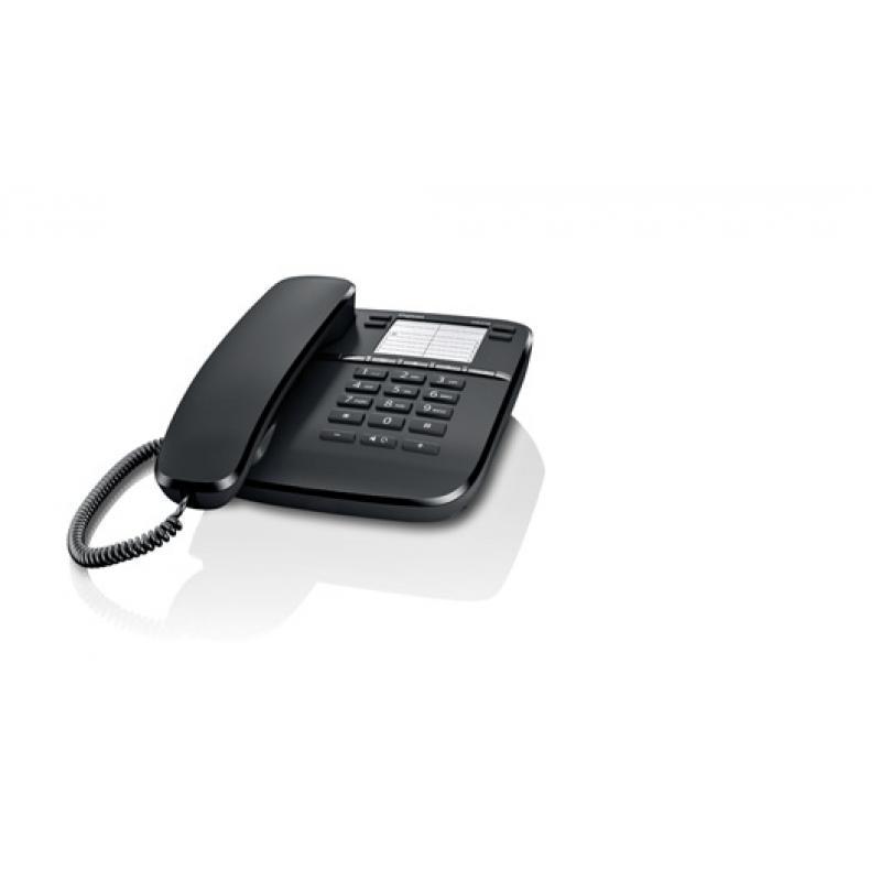 DA410 Teléfono analógico Negro - Imagen 1
