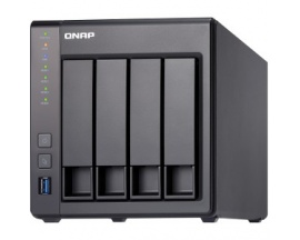 Sistema de almacenamiento SAN/NAS QNAP Turbo NAS TS-431X - Torre - Annapurna Labs Alpine AL-212 Dual-core (2 Core) 1,70 GHz - 2