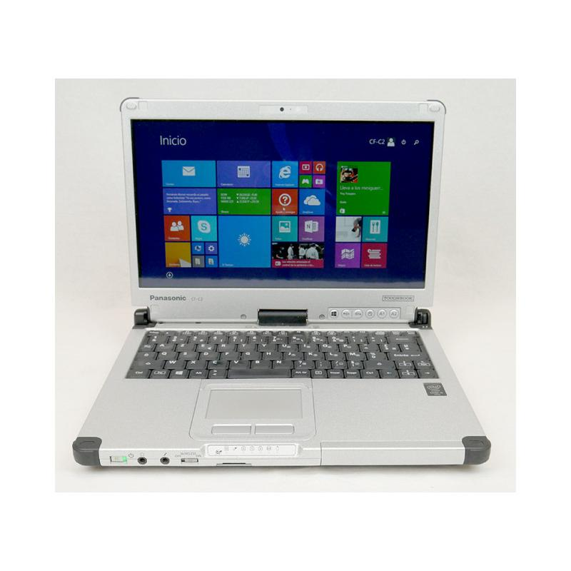 Panasonic Toughbook CF-C2 Intel Core i5 4310U 2 GHz. · 4 Gb. SO-DDR3 RAM · 500 Gb. SATA · Teclado internacional con pegatinas en