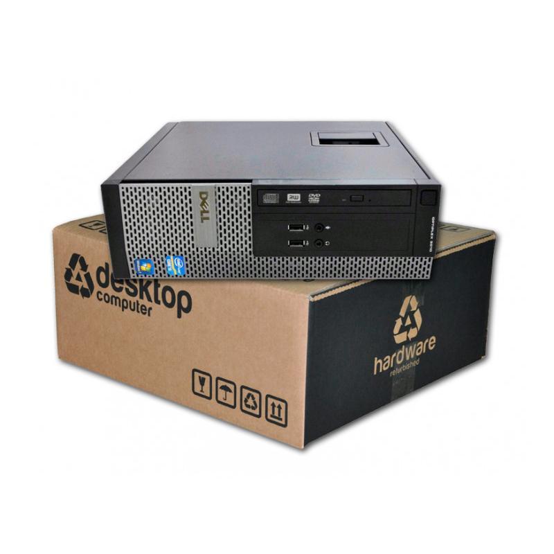 Dell Optiplex 3020 i5 SFF Intel Core i5 4570 3.2 GHz. · 16 Gb. DDR3 RAM · 240 Gb. SSD · DVD · Windows 10 Pro - Imagen 1