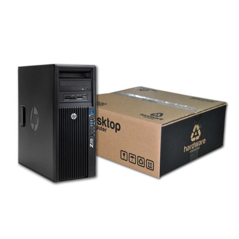HP WorkStation Z420 Torre Intel Xeon Octa Core E5 2687W 3.1 GHz. · 16 Gb. DDR3 ECC RAM · 256 Gb. SSD · DVD-RW · Windows 10 Pro ·