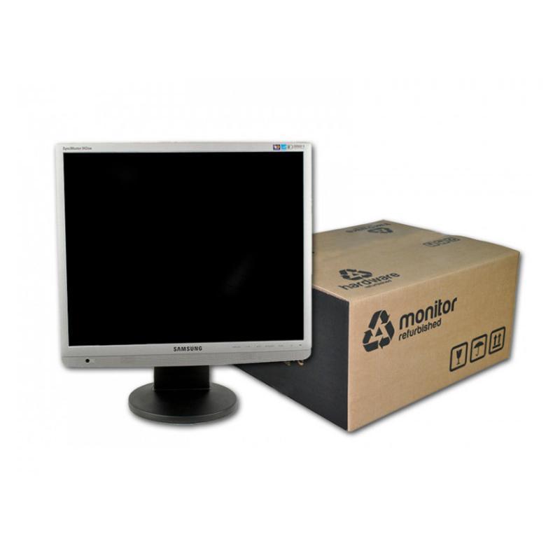 Samsung SyncMaster 943NW TFT 19 '' HD 16:9 · Resolución 1440x900 · Dot pitch 0.294 mm · Respuesta 5 ms · Contraste 8000:1 · Br