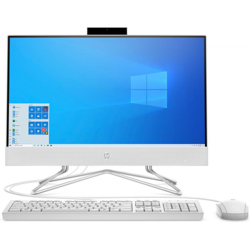 "HP 22 -df0026ns 54,6 cm (21.5"") 1920 x 1080 Pixeles Intel® Celeron® 8 GB DDR4-SDRAM 256 GB SSD Wi-Fi 5 (802.11ac) Blanco PC todo"