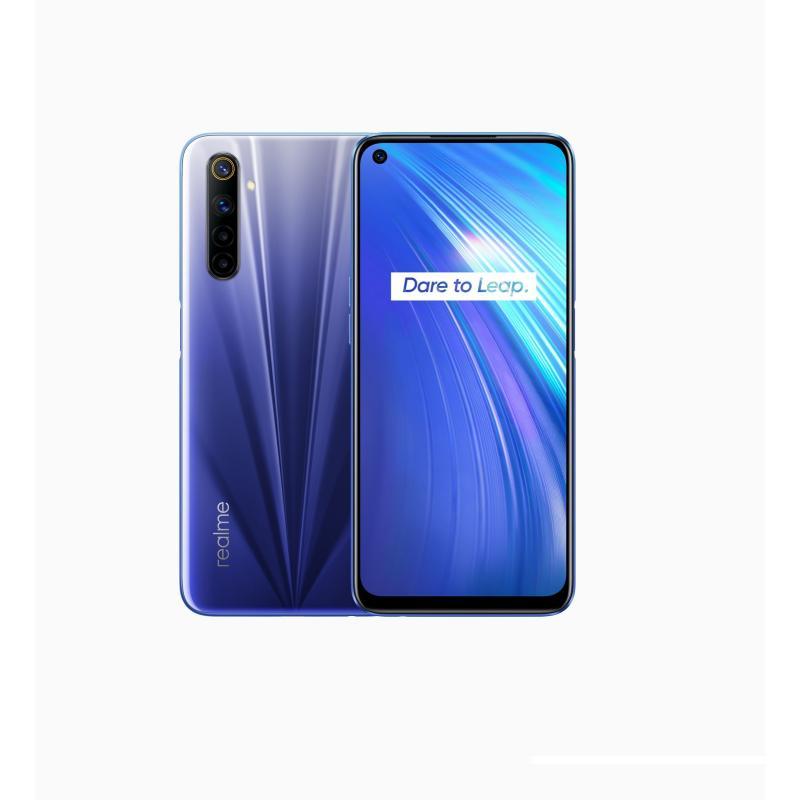 "6 16,5 cm (6.5"") 8 GB 128 GB SIM doble 4G USB Tipo C Azul Android 10.0 4300 mAh - Imagen 1"