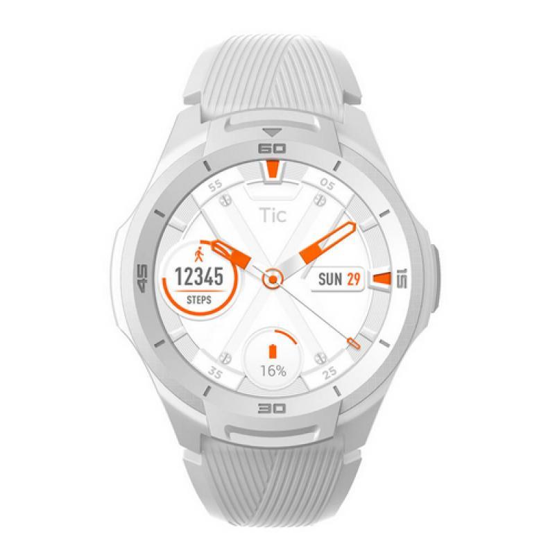 "TicWatch S2 reloj inteligente AMOLED 3,53 cm (1.39"") Blanco GPS (satélite) - Imagen 1"