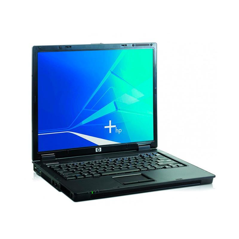 HP NC6320 Intel Core 2 Duo T5600 1.83 GHz. · 2 Gb. SO-DDR2 RAM · 60 Gb. SATA · DVD-RW · Teclado internacional con pegatinas en C
