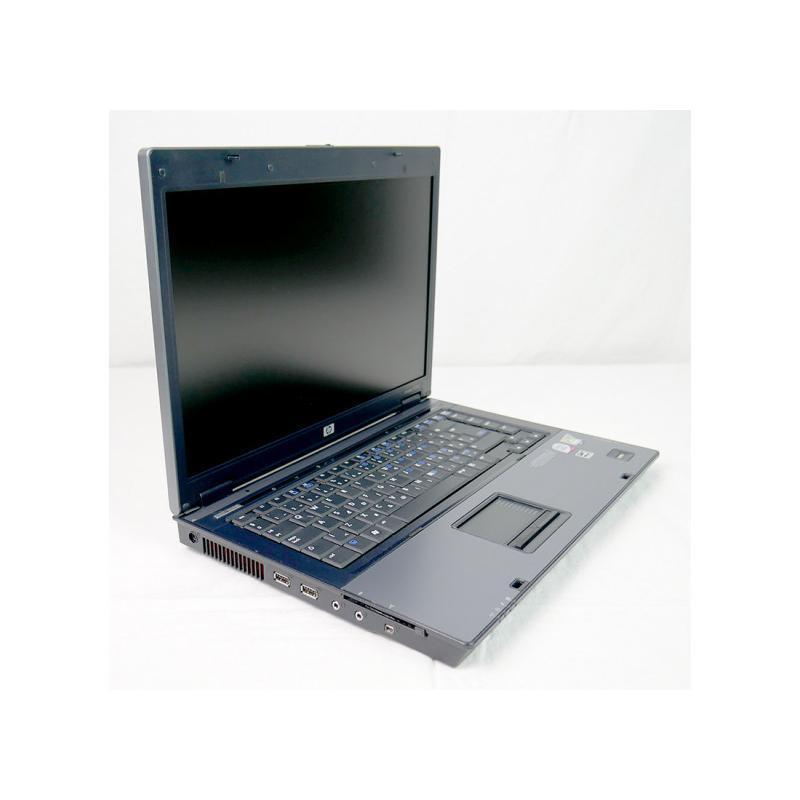 HP 6510b Intel Core 2 Duo T7250 2 GHz. · 2 Gb. SO-DDR2 RAM · 120 Gb. SATA · DVD-RW · Teclado internacional con pegatinas en Cast