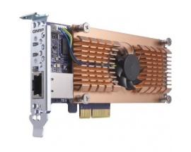QNAP QM2-2P10G1T Adaptador M.2 a PCI Express