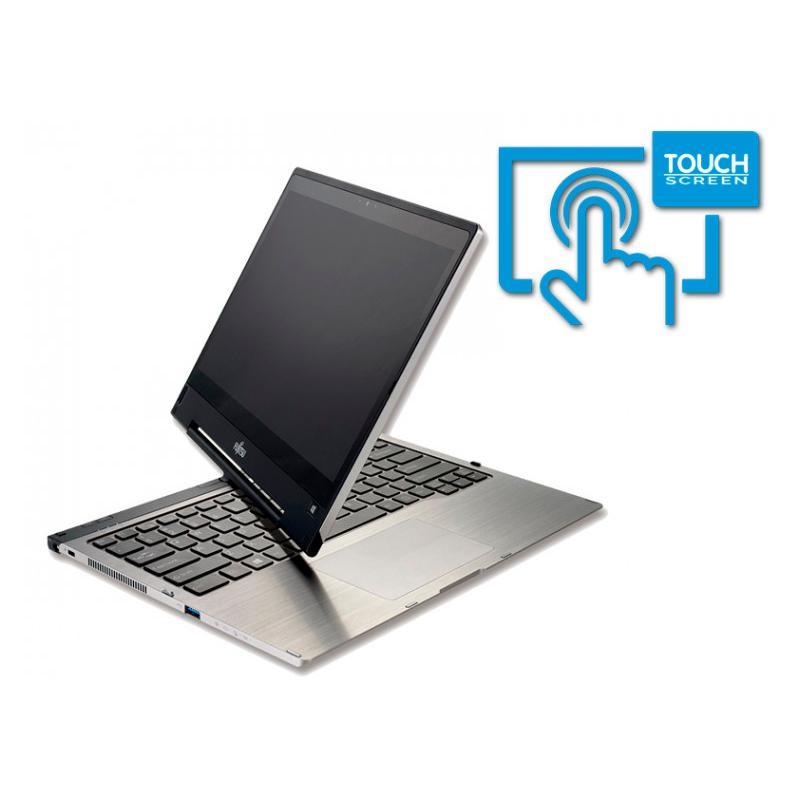 Fujitsu LifeBook T904Intel Core i5 4300U 1.9 GHz. · 8 Gb. SO-DDR3 RAM · 128 Gb. SSD · Teclado internacional con pegatinas en