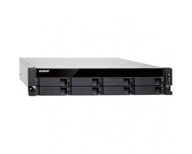 Sistema de almacenamiento SAN/NAS QNAP Turbo NAS TS-873U-RP - 2U - Montaje en bastidor - AMD R-Series RX-421ND Quad-core (4 Core