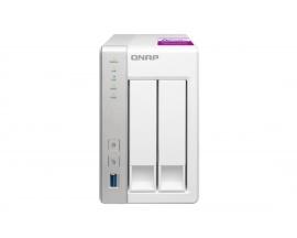 TS-231P2-1G 2BAY 1.7 GHZ QC 1GB 2 X GBE 3 X USB 3.0 IN - Imagen 1
