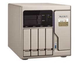Sistema de almacenamiento SAN/NAS QNAP TS-677 - Torre - AMD Ryzen 5 1600 Hexa-core (6 Core) 3,20 GHz - 6 x HDD admitido - 2 x SS